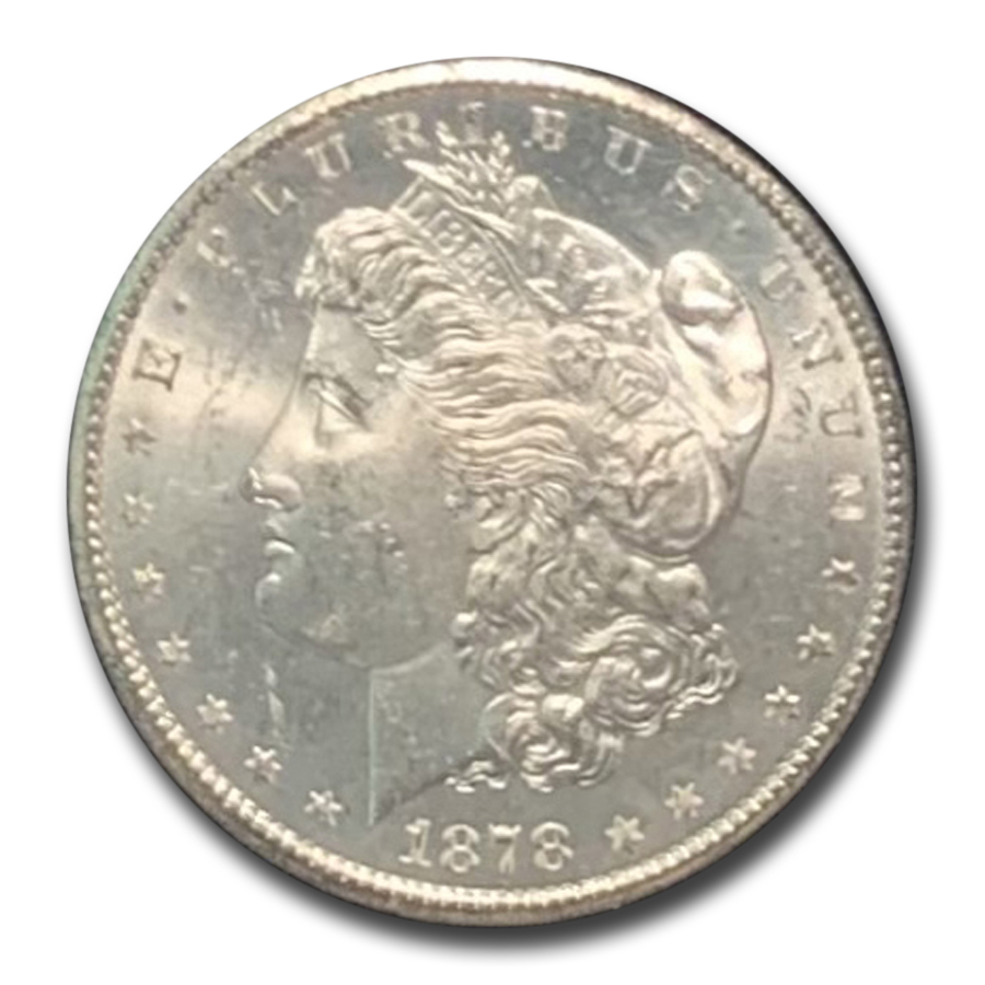 1878-CC Morgan Dollar MS-63 PCGS - GSA Certified